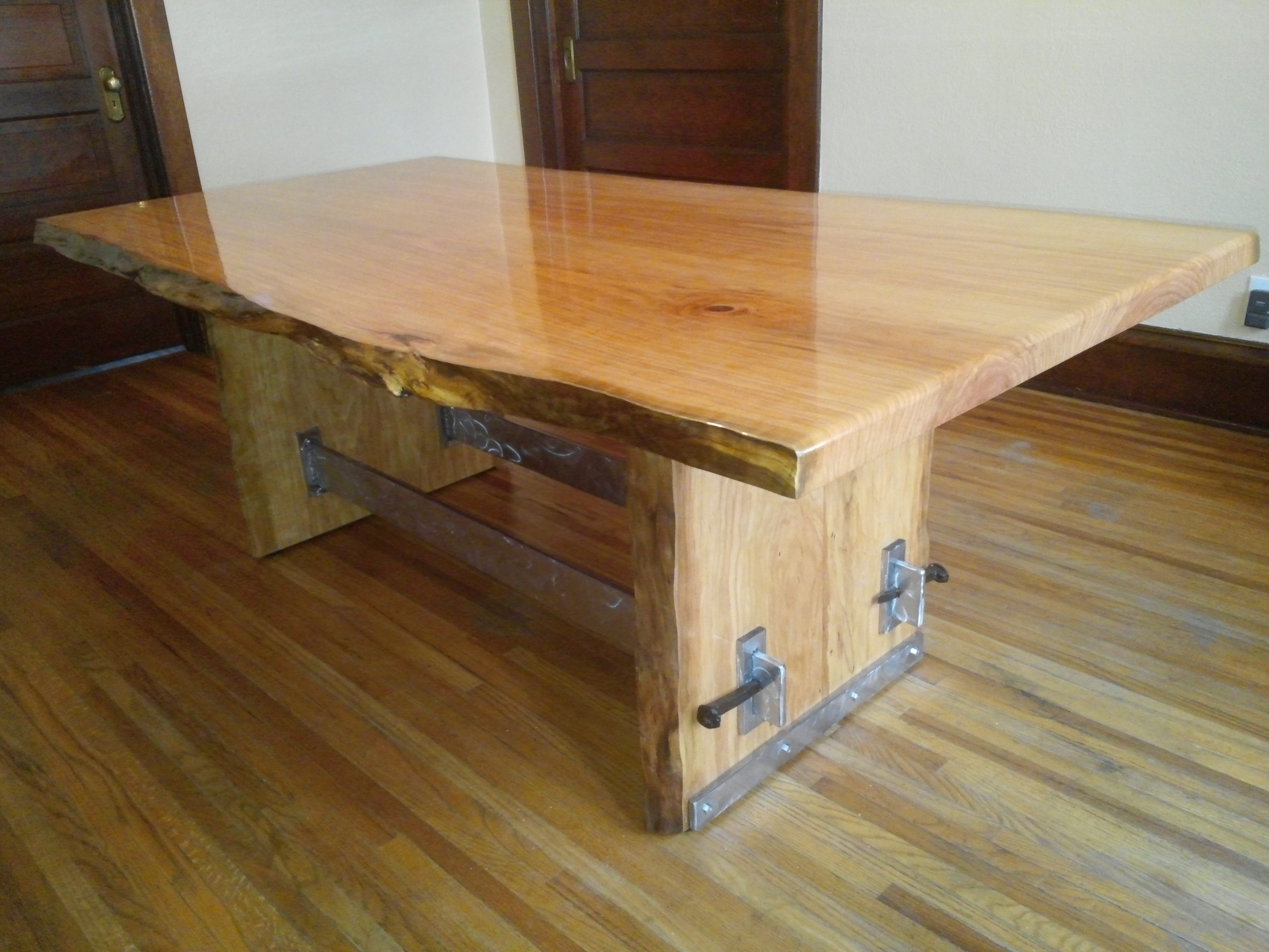 Furniture stores great falls mt - Live Edge Cherry Table Good Wood Guys Online